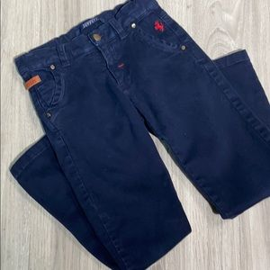 Boys Ferrari dark blue jeans